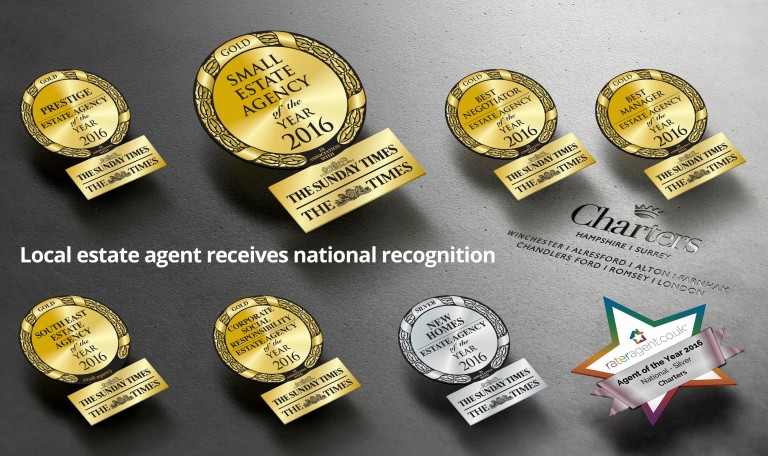 Charters Estate Agents Win Six Gold Awards