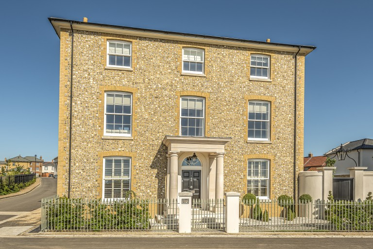 One of the largest Town houses in Poundbury is for sale